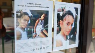 Les appels à témoin n'ont pour l'instant pas permis de retrouver Maëlys de Araujo, 9 ans, disparue lors d'un mariage en Isère. (ALLILI / SIPA)