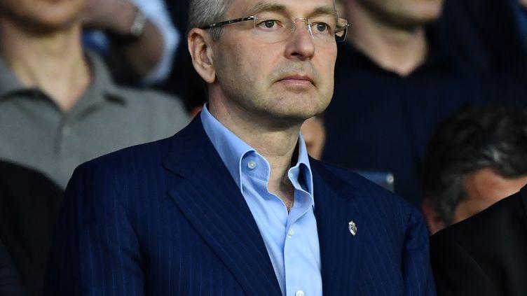Dmitri Rybolovlev, le patron de l'AS Monaco, à Paris, le 21 avril 2019. (MUSTAFA YALCIN / AFP)