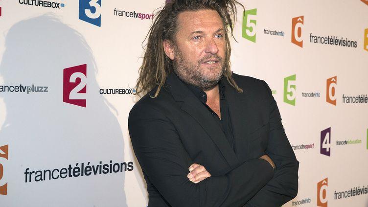 Olivier Delacroix, présentateur de «Dans les yeux d'Olivier» sur France 2. (JOEL SAGET / AFP)