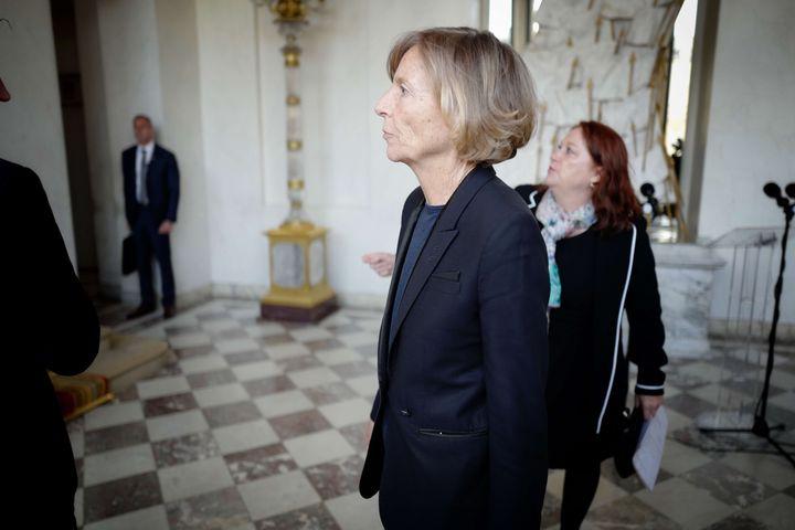 Marielle de Sarnez, à l'Elysée, le 6 juin 2017. (DENIS ALLARD-POOL/SIPA)