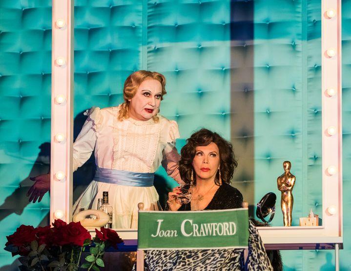 """""""Qu'est-il arrivé à Bette Davis et Joan Crawford ?"""", mise en scène de Michel Fau, au Théâtre de la Porte-saint-Martin (CHRISTOPHE MARTIN)"""