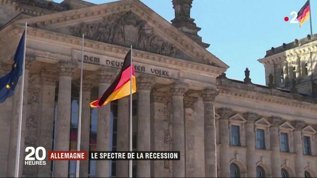 Allemagne : le spectre de la récession plane sur l'économie du pays