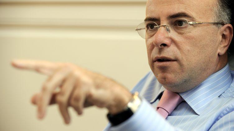 Le député socialiste Bernard Cazeneuve, le 10 octobre 2011 à Cherbourg (Manche). (ALEXANDRE MARCHI /PHOTOPQR / L'EST REPUBLICAIN / MAXPPP)