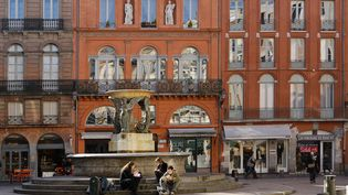 """Toulouse est la première ville française où il fait bon étudier, selon un classement réalisé par """"L'Etudiant"""" et publié le 11 septembre 2012. (MAURICE SUBERVIE / ONLY FRANCE / AFP)"""