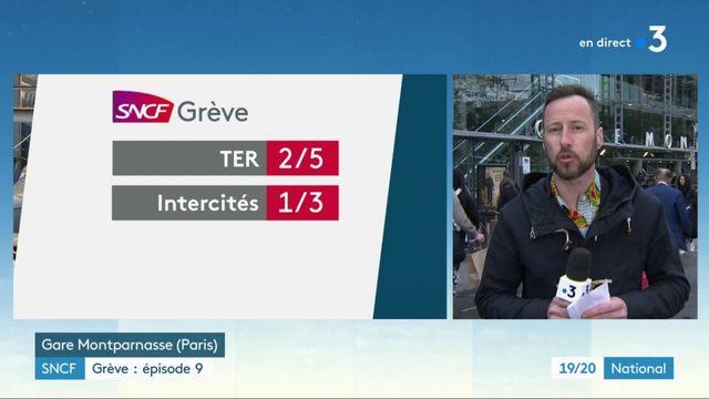 SNCF : neuvième épisode de grève nationale