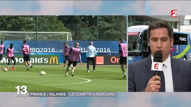 France-Islande : les dernières heures de préparation