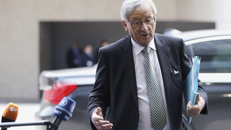 Le président de l'Eurogroupe Jean-Claude Juncker le 21 juin 2012 à Luxembourg (Luxembourg). (FRANCOIS LENOIR / REUTERS)