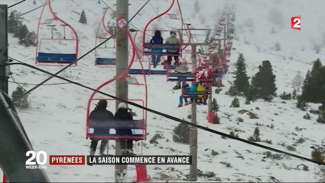 Ski : la saison commence en avance dans les Pyrénées