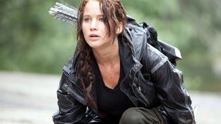 """L'actrice américaine Jennifer Lawrence dans """"Hunger Games"""", de Gary Ross. (ARCHIVES DU 7EME ART)"""