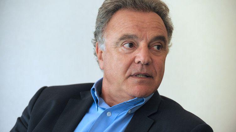 Alain Afflelou, le 20 septembre 2012 à Paris. (ERIC PIERMONT / AFP)
