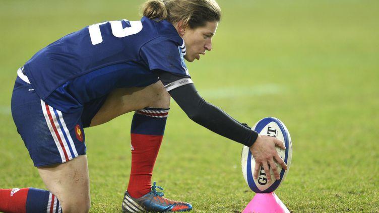 Christelle Le Duff ne sera pas à Rio (ROMAIN LAFABREGUE / AFP)