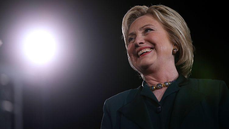Hillary Clinton à Las Vegas (Nevada), le 19 février 2016. (JUSTIN SULLIVAN / GETTY IMAGES NORTH AMERICA / AFP)