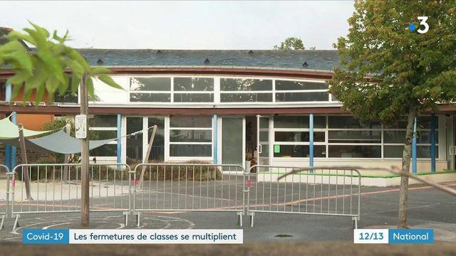 Covid-19 : les fermetures de classes se multiplient en Loire-Atlantique