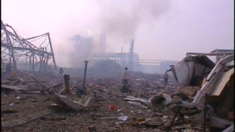 Les décombres de l'usine AZF (© France)