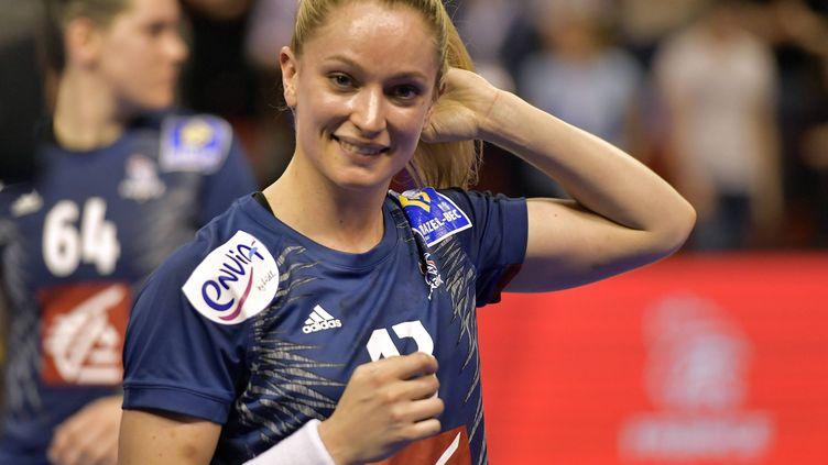 La joueuse de l'équipe de France Manon Houette (J?R?ME FOUQUET / MAXPPP)