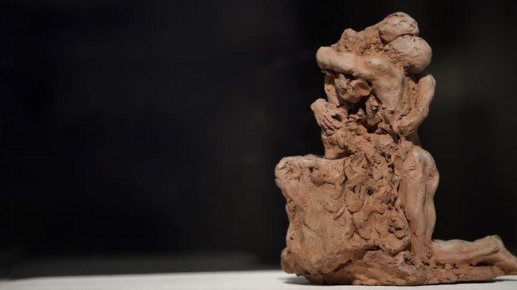 """Camille Claudel, une esquisse de """"L'Abandon"""" vendu par la famille chez Artcurial  (Eric Feferberg / AFP)"""