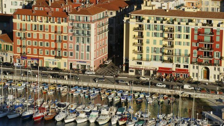 Vue aérienne de Nice (Alpes-Maritimes). (BARBERON-ANA / AFP)