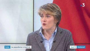 Lynda Dematteo, politologue etenseignante à l'EHESS. (FRANCE 3)
