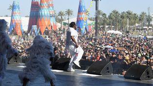 Pusha T sur la scène du FestivalCoachella le 21 avril 2019 (KEVIN WINTER / GETTY IMAGES NORTH AMERICA)