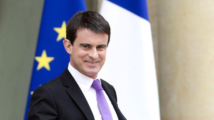 Le Premier ministre Manuel Valls, à l'Elysée, à Paris, le 7 mai 2014. (ALAIN JOCARD / AFP)