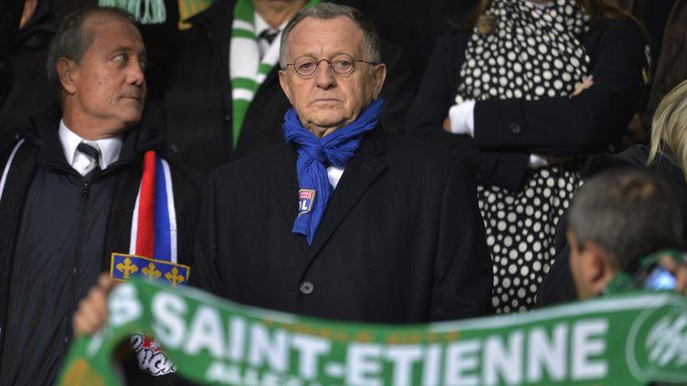 Jean-Michel Aulas, lors du derby face à St-Etienne