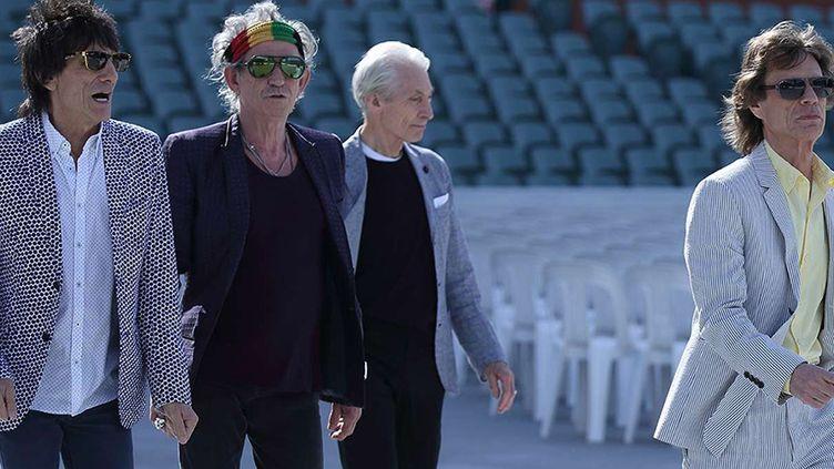 Les Rolling Stones, Australie, octobre 2014  (RM7/ZJE/WENN.COM/SIPA)