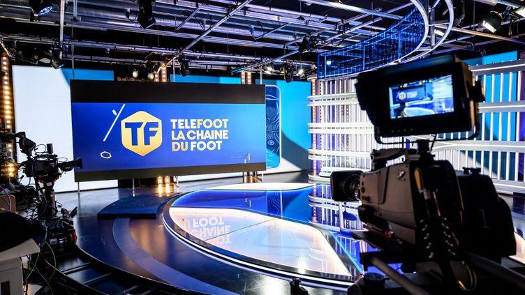 Moins de quatre mois après son lancement, la chaîne Téléfoot va fermer (BERTRAND GUAY / AFP)