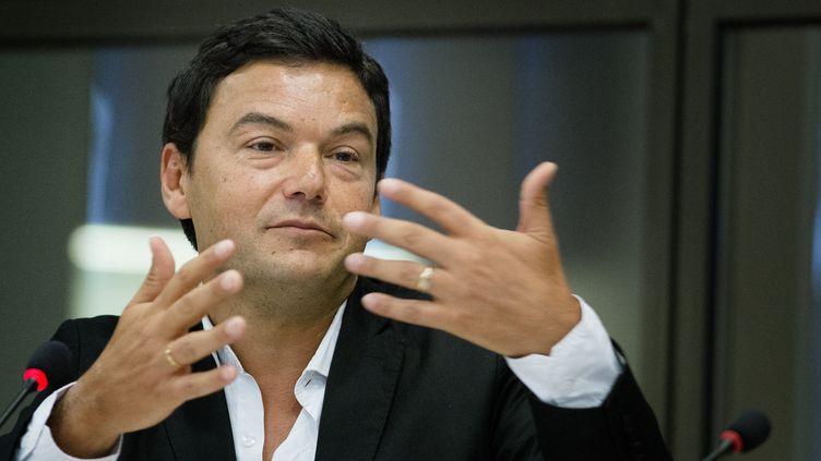 L'économiste Thomas Piketty, le 5 novembre 2014 lors d'une audition devant le Sénat néerlandais. (BART MAAT / ANP / AFP)