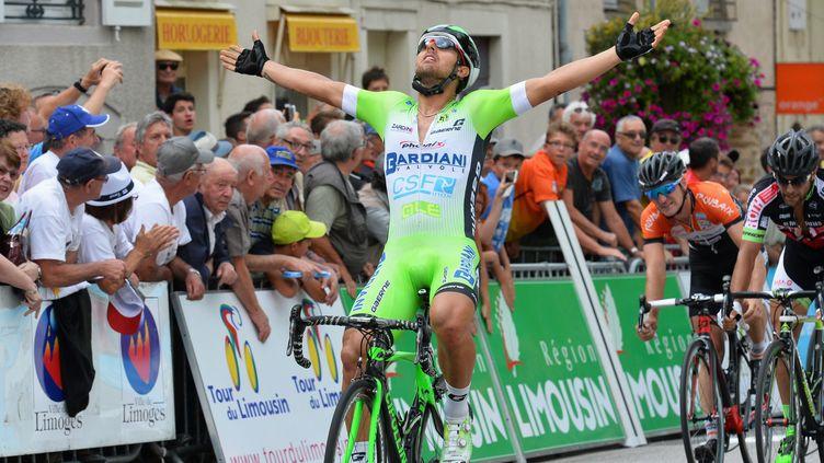 Sonny Colbrelli avait remporté la première étape  (THOMAS JOUHANNAUD / MAXPPP)