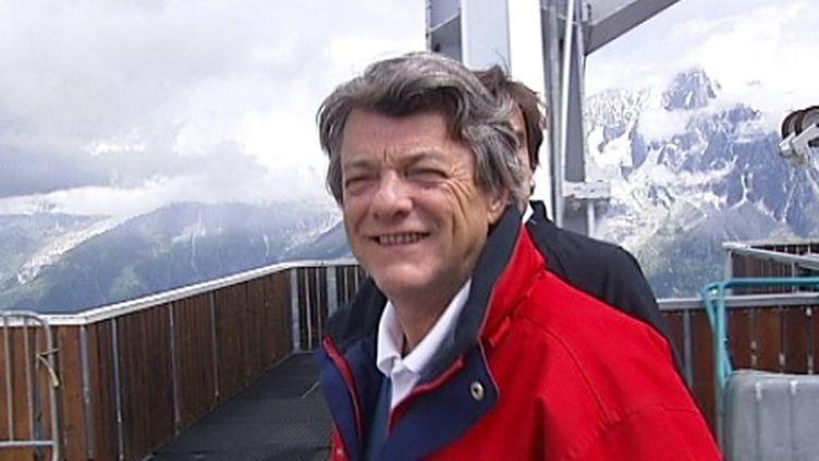 Jean-Louis Borloo à Chamonix le 10 Aout 2011 (FranceTV)