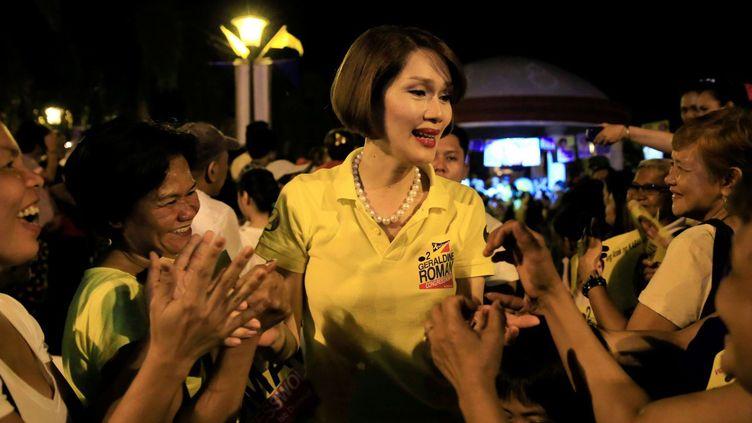 Geraldine Roman est devenue la première personne transsexuelle élue aux Philippines. (© ROMEO RANOCO / REUTERS)