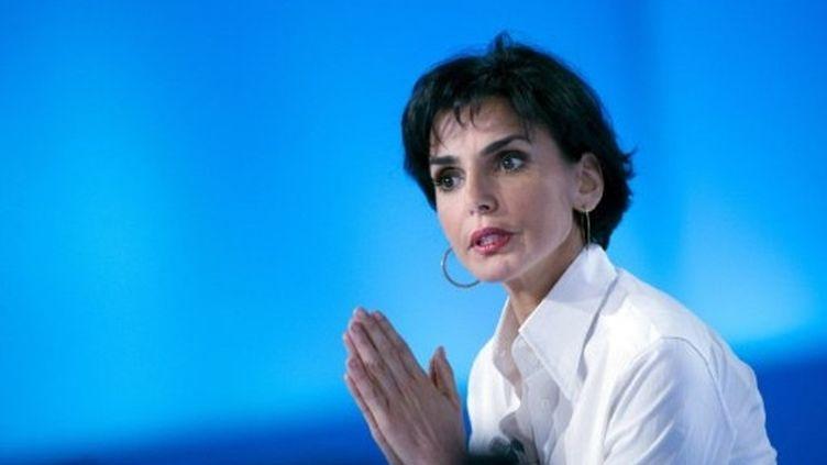 Rachida Dati participe à une émission de Canal Plus, le 26 mai 2011. (AFP - Bertrand Langlois)