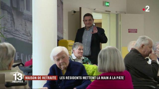 Maisons de retraite : quand les résidents mettent la main à la pâte