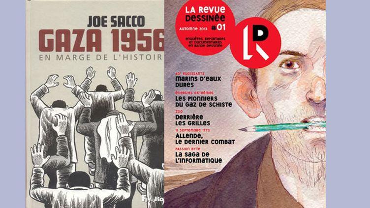 (© Joe Sacco, Futuropolis / Gipi, la Revue dessinée)