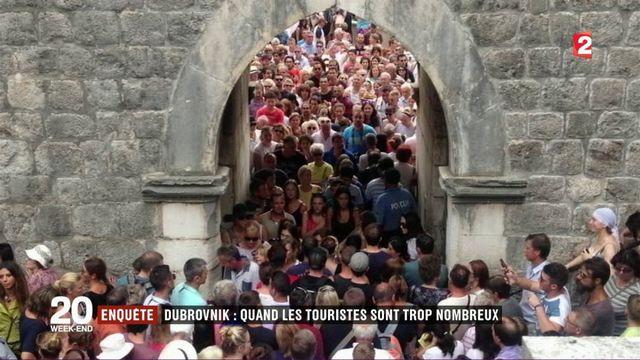 Dubrovnik : quand les touristes sont trop nombreux