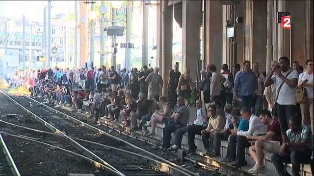 Paris : la gare du Nord paralysée après un acte de malveillance mardi soir
