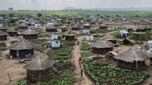 Le camps de réfugiés de Bidi Bidi dans le nord de l'Ouganda est le plus important du monde. Il accueille plus de 270.000 personnes qui ont fui la guerre civile au Soudan du Sud. (Ben Curtis/AP/SIPA)