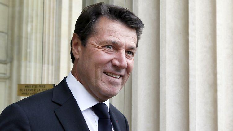 Le député-maire UMP de Nice, Christian Estrosi, le 17 juin 2012 à Paris. (KENZO TRIBOUILLARD / AFP)