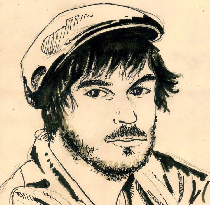 Le chanteur croqué par le dessinateurDenys Legros  (Denys Legros 2019)
