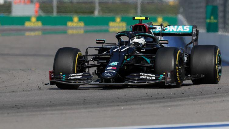 Valterri Bottas (Mercedes) s'est imposé sur le dernier Grand Prix, à Sotchi (YURI KOCHETKOV / POOL)
