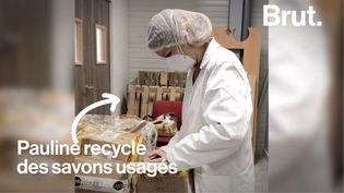 VIDEO. Elle recycle des savons d'hôtels pour les plus démunis (BRUT)