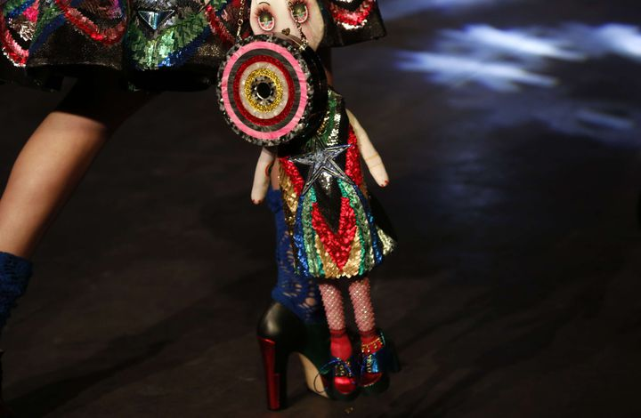 Manish Arora pap printemps-été 2016, à Paris....  (Jerome Delay/AP/SIPA)