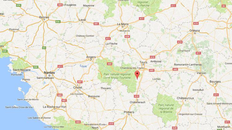 Saint-Épain (Indre-et-Loire). (GOOGLE MAPS)