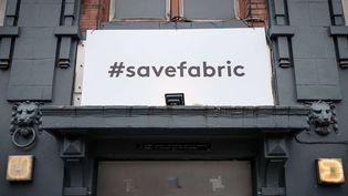 La façade du club Fabric, dans le quartier d'Islington à Londres, fermé depuis le 7 sept 2016. Pour toujours ?  (Rob Pinney/LNP/REX/)