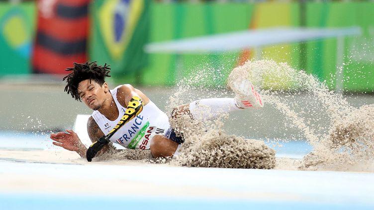 Arnaud Assoumani a décroché le bronze au saut en longueur