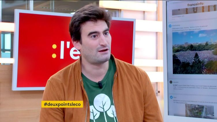 Baudoin Vercken, cofondateur de la startup EcoTree (FRANCEINFO)