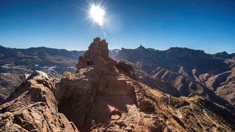 Les montages sacrées de Grande Canarie, viennent d'entrer au patrimoine mondial de l'Unesco. (NACHO GONZ?LEZ / EFE)