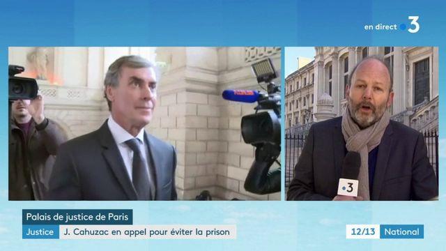 Justice : Jérôme Cahuzac en appel pour éviter la prison