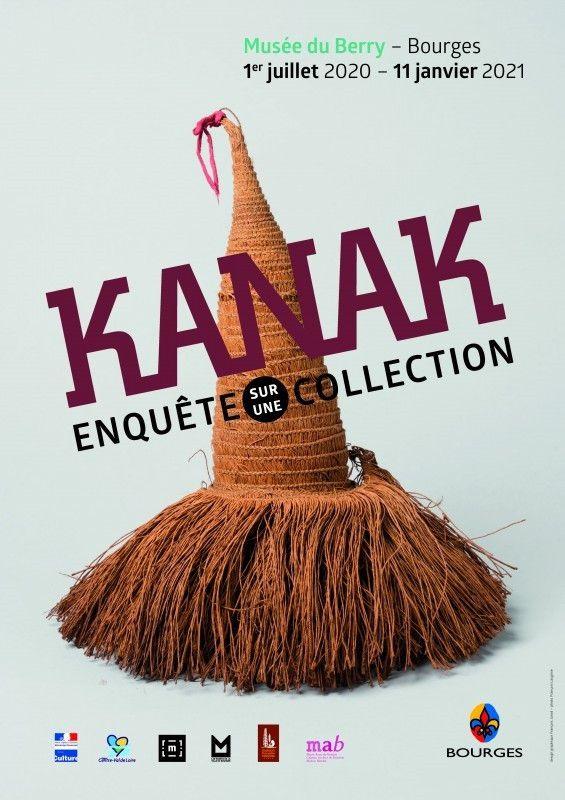 """""""Kanak, enquête sur une collection"""" (Musée du Berry)"""