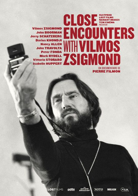 """Close encounters with Vilmos Zsigmond"" : l'affiche  (Lost Films)"